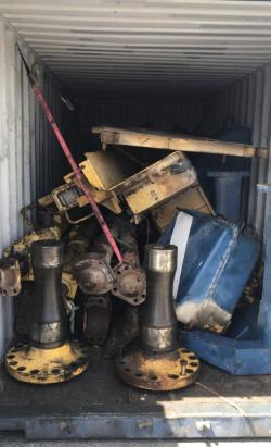 Used machinery for price of scrap metal