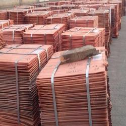 Buying copper cathodes 99,5% min 25 mt trial
