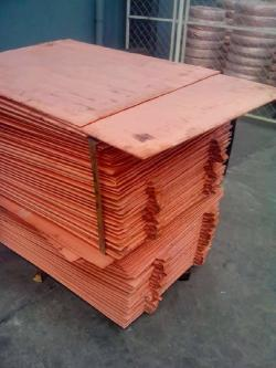 Interested in Copper cathodes CIF