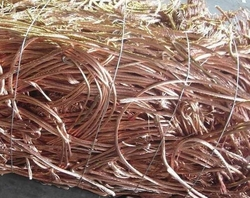 Copper wire scrap millberry 99,9% 10,000 mt/m CIF/FOB