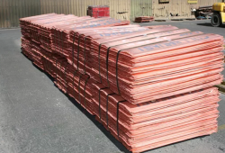 Copper cathodes 3,000 mt/m up to 20,000 mt/m CIF