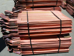 Copper cathode offer LME -15%