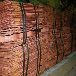 Interested in copper cathodes 99,99% 5,000 mt/m