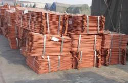 Copper cathodes 99,99% 100,000 mt/m needed