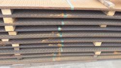 Hot rolled steel sheets teardrop pattern