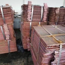 Interested in copper cathodes 5,000 mt/m EXW