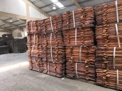 Copper cathodes in bulk for sale