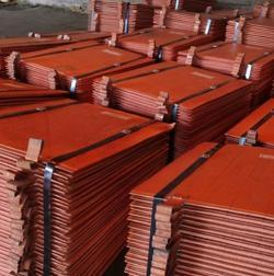 Copper cathodes Non registered LME