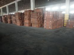 Copper Cathodes for sale, 99.99% purity
