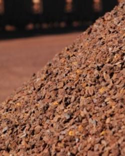 Iron ore from Brazil and Chilie