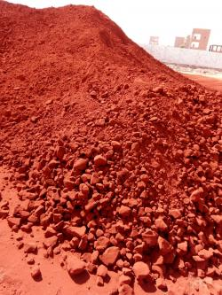 Iron Ore FE 55% , FE203 79% , Red Iron Oxide For sale