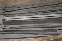 Tungsten bars, W 99,9146%, sizes 11*11*460 mm