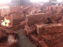 Copper wire scrap 99.9%