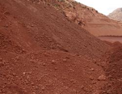 Bauxite ore from Turkey