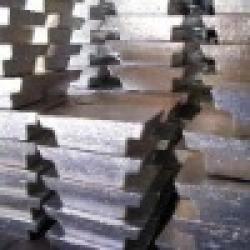 Metal minerals magnesium (Mg) ingot