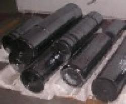 Round Polycrystalline silicon Ingots