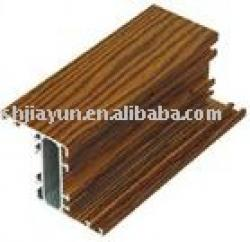 wooden aluminum alloy profile